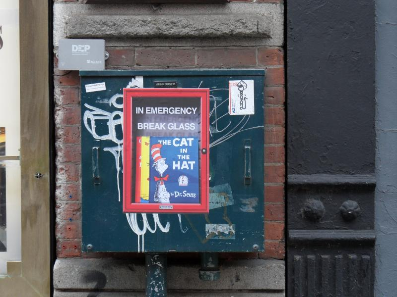Dr. Seuss Emergency Box - Little Italy, NYC