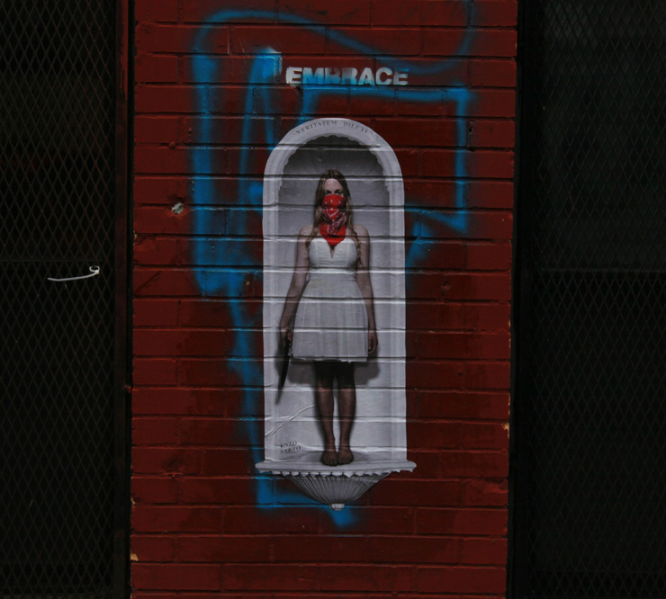 Brooklyn Street Art - Images of the week featuring Enzo Sarto for October 12, 2014